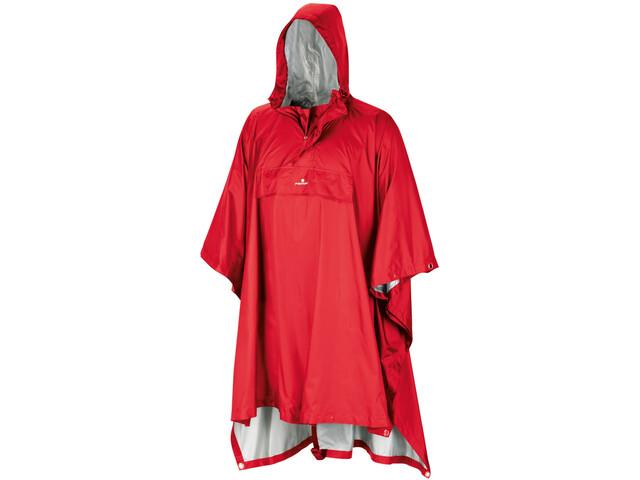 Ferrino Todomodo Poncho 150cm, red
